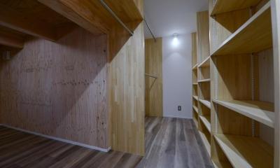 豊田市の家2 (ウォークインクローゼット)