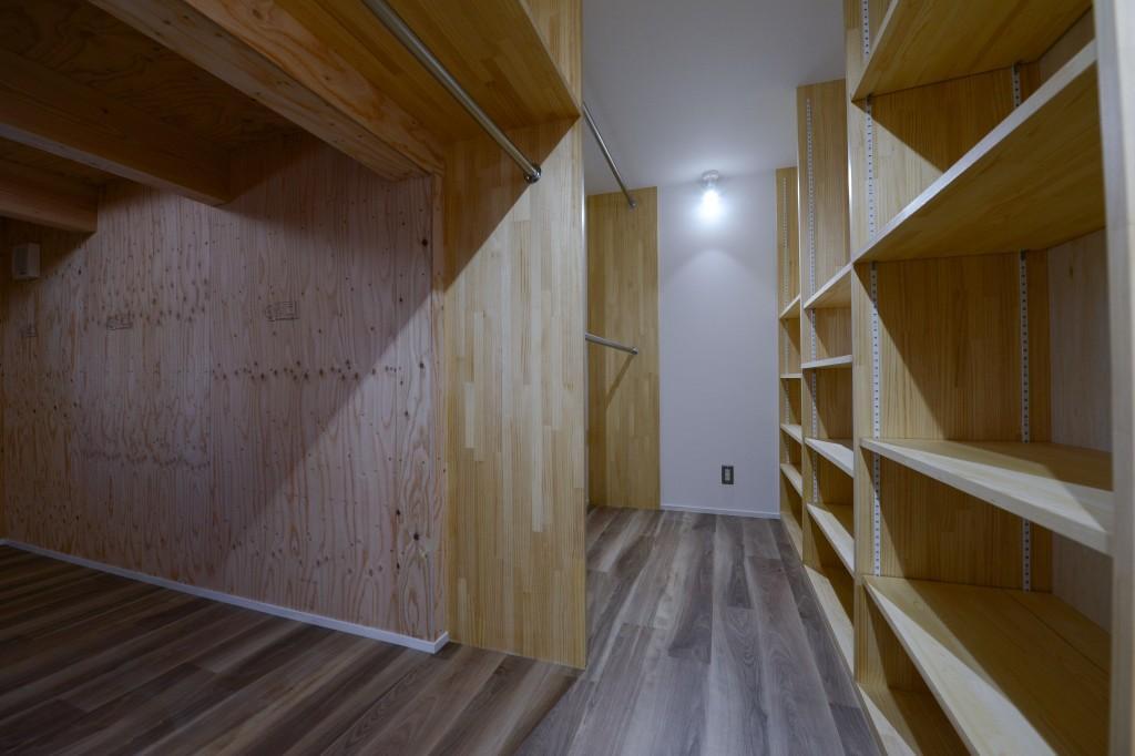 豊田市の家2の部屋 ウォークインクローゼット