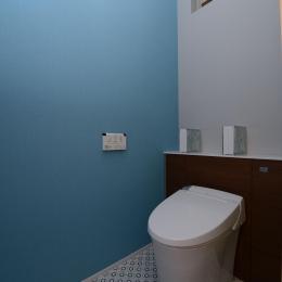 豊田市の家2 (シンプルでおしゃれなトイレ)