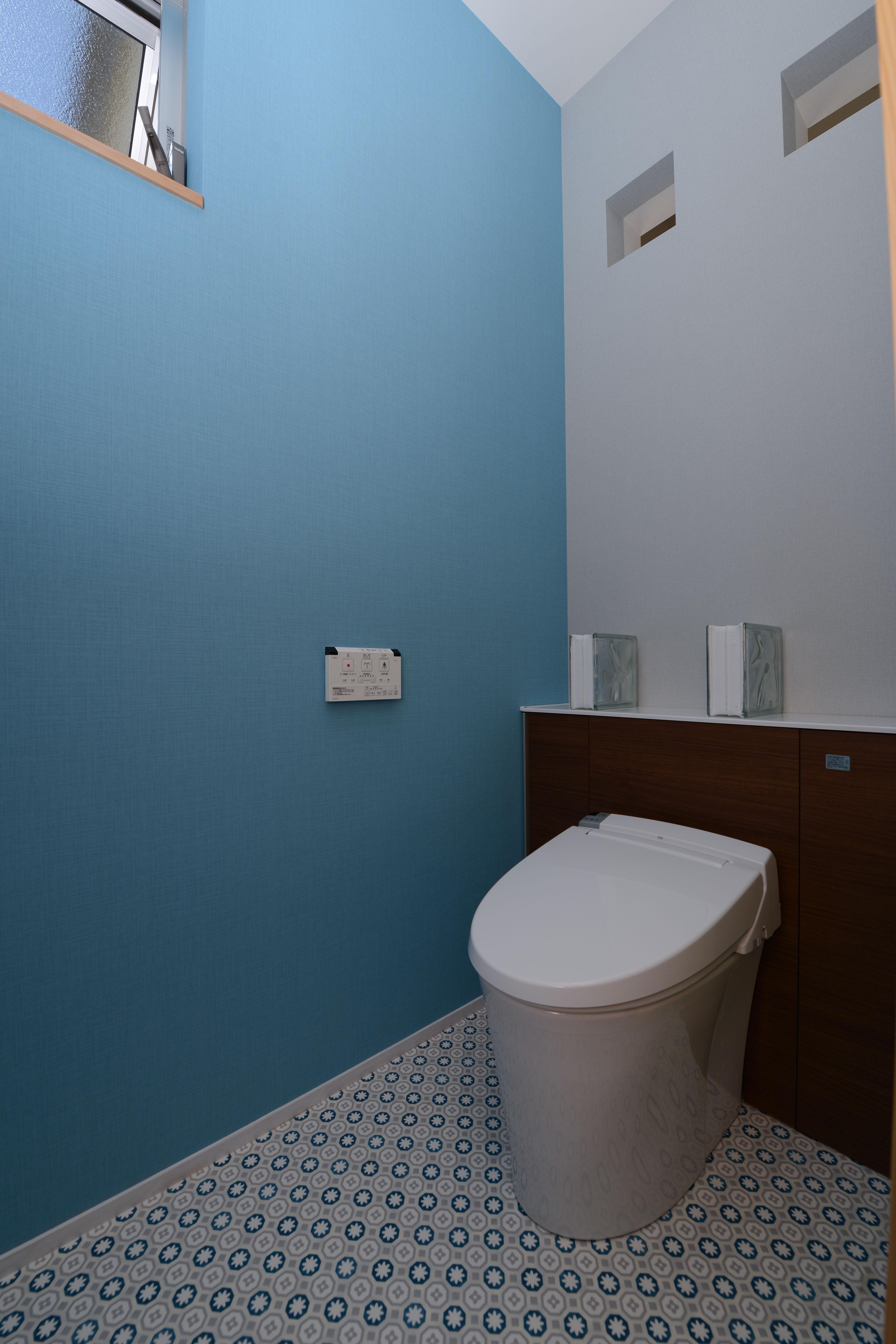 豊田市の家2の部屋 シンプルでおしゃれなトイレ