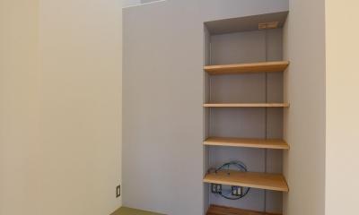 小さな畳コーナー|豊田市の家2