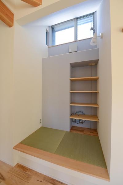 豊田市の家2 (小さな畳コーナー)