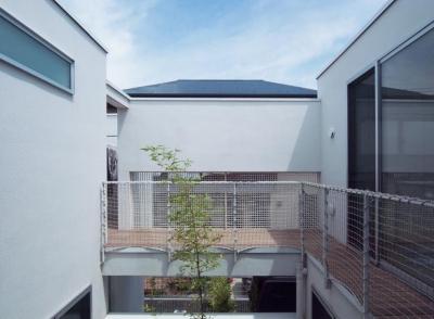 三鷹の家 (バルコニー)