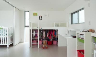 三鷹の家 (子供室)