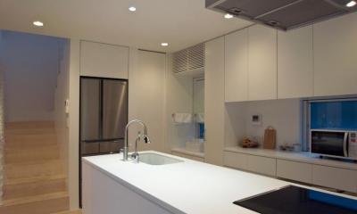 三鷹の家 (キッチン)