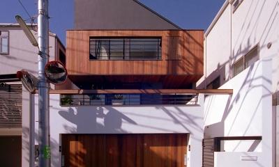オープンテラスの家・OPEN TERRACE HOUSE 東京都世田谷区