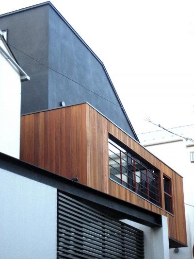 オープンテラスの家・OPEN TERRACE HOUSE (外観3)