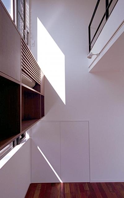 オープンテラスの家・OPEN TERRACE HOUSE (セカンドリビング・ロフト)