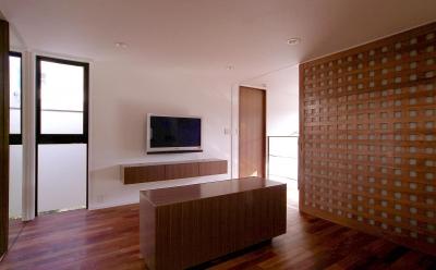 寝室2 (オープンテラスの家・OPEN TERRACE HOUSE 東京都世田谷区)