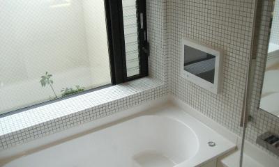 浴室|オープンテラスの家・OPEN TERRACE HOUSE