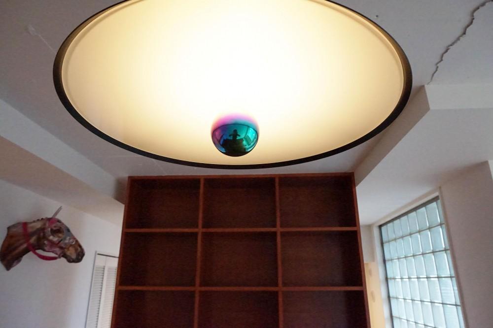 荻窪のマンションリノベーション (リビング)