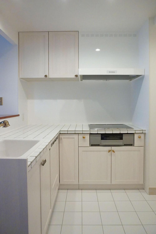 荻窪のマンションリノベーション (キッチン)