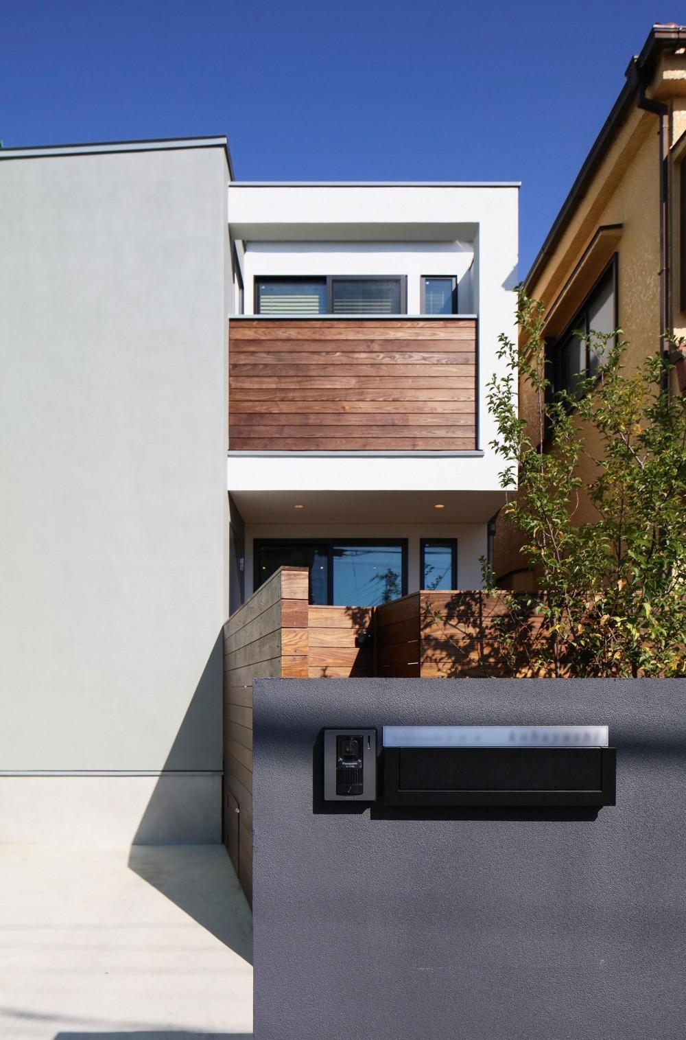 ウッドテラスの家・WOOD TERRACE HOUSE 東京都杉並区 (外観1)