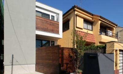 外観2|ウッドテラスの家・WOOD TERRACE HOUSE