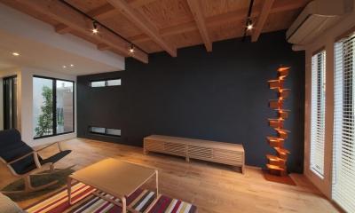 ウッドテラスの家・WOOD TERRACE HOUSE 東京都杉並区 (LDK3)