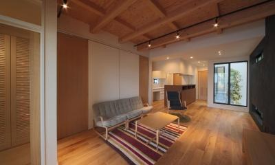 LDK4|ウッドテラスの家・WOOD TERRACE HOUSE