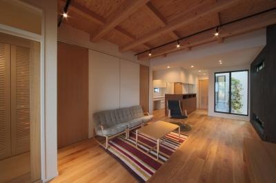 ウッドテラスの家・WOOD TERRACE HOUSE 東京都杉並区 (LDK4)