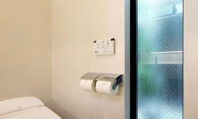 ウッドテラスの家・WOOD TERRACE HOUSE 東京都杉並区 (洗面・浴室・W.C.・ユーティリティ)