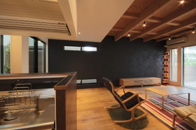 ウッドテラスの家・WOOD TERRACE HOUSE 東京都杉並区 (LDK5)