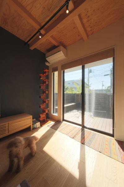 ウッドテラスの家・WOOD TERRACE HOUSE 東京都杉並区 (ウッドテラス1)