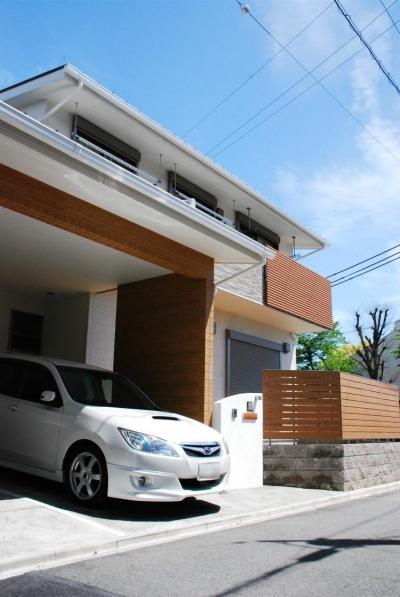 駐車場 (清州 NET-ZEH)