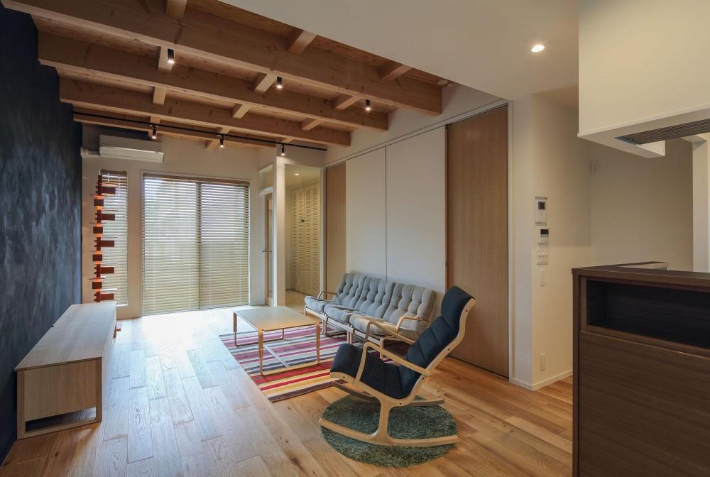 ウッドテラスの家・WOOD TERRACE HOUSE 東京都杉並区 (LDK7)