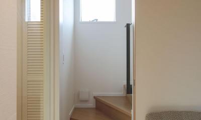 階段1|ウッドテラスの家・WOOD TERRACE HOUSE