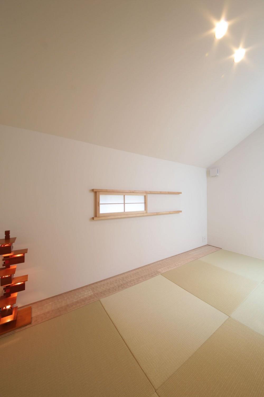 ウッドテラスの家・WOOD TERRACE HOUSE (2F和室1)