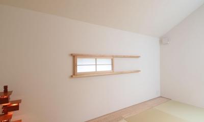 ウッドテラスの家・WOOD TERRACE HOUSE 東京都杉並区 (2F和室1)