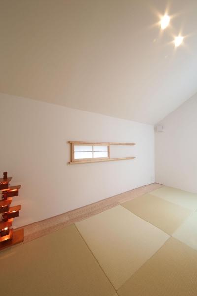 2F和室1 (ウッドテラスの家・WOOD TERRACE HOUSE 東京都杉並区)