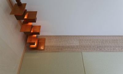 ウッドテラスの家・WOOD TERRACE HOUSE 東京都杉並区 (2F和室2)