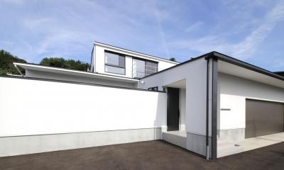外観5|中庭を囲む高気密高断熱住宅・T-HOUSE morioka