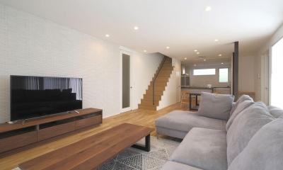 LDK2|中庭を囲む高気密高断熱住宅・T-HOUSE morioka