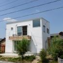 刈谷市の家3の写真 白い外観