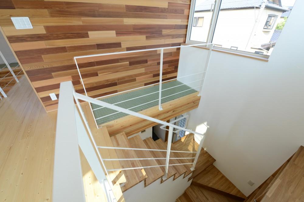 刈谷市の家3 (階段)