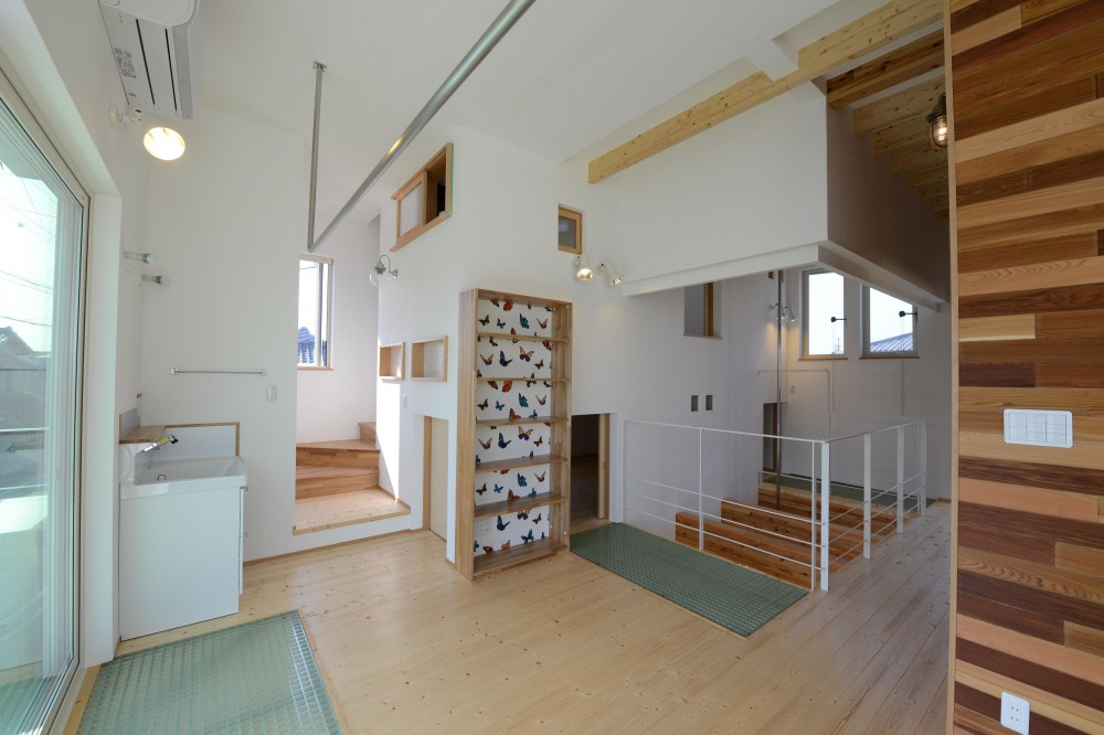 刈谷市の家3 (開放的な空間)