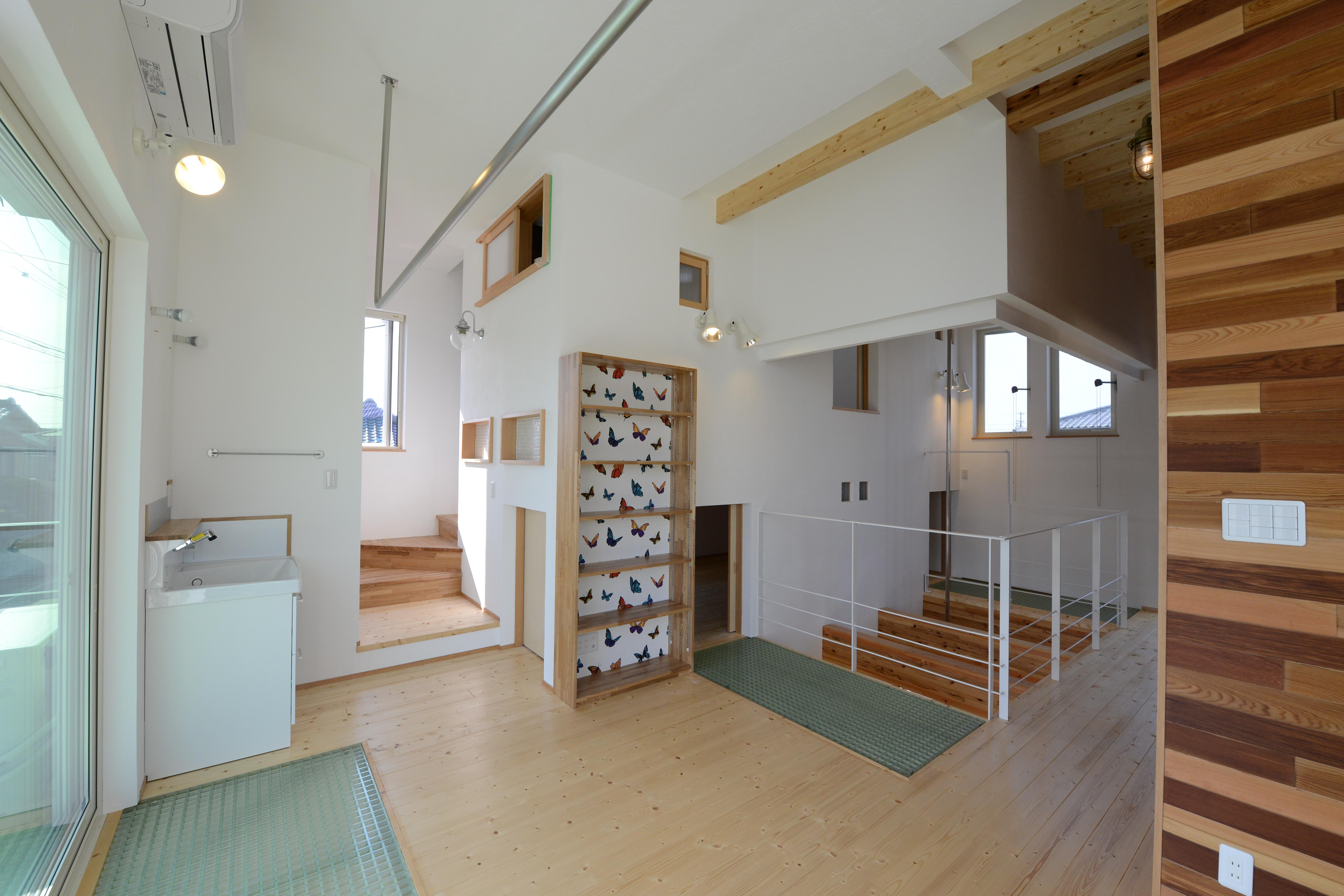 刈谷市の家3の部屋 開放的な空間