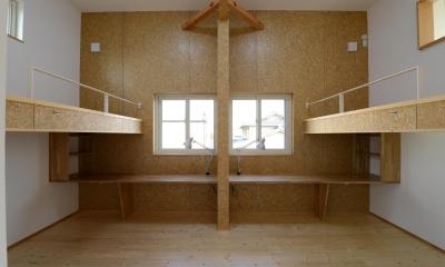 刈谷市の家3 (子供部屋)