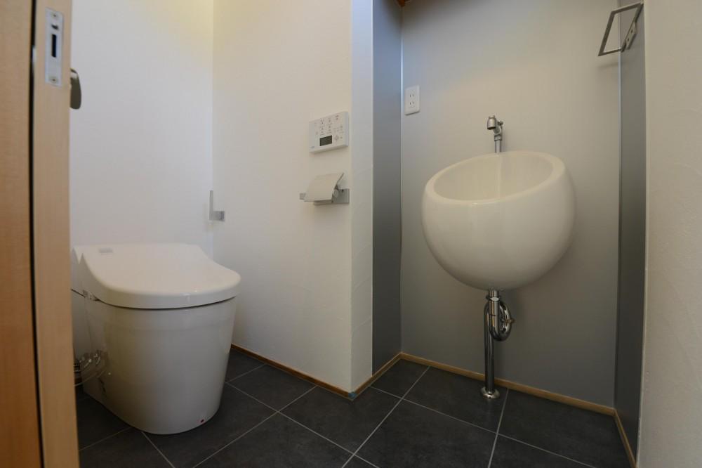 刈谷市の家3 (シンプルなトイレ)