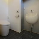 刈谷市の家3の写真 シンプルなトイレ
