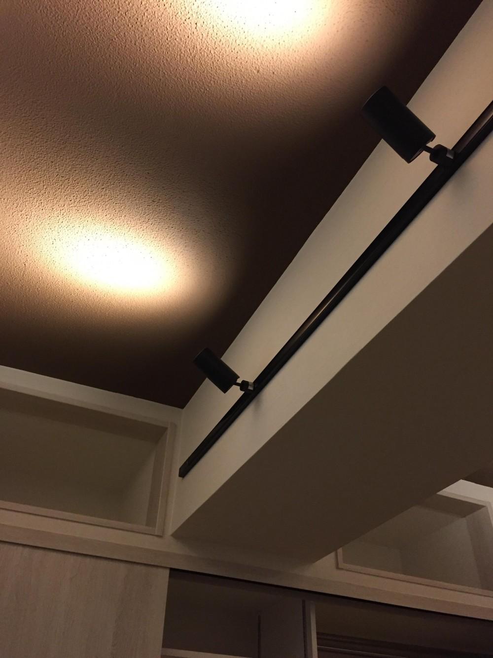 築43年のマンションをスケルトンリフォームする (配線ダクトを使った照明)