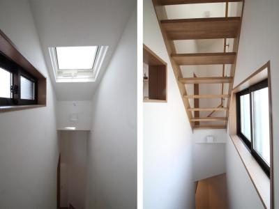 スケルトン階段|下町のリノベーションハウス|東京都北区 (下町のリノベーションハウス)