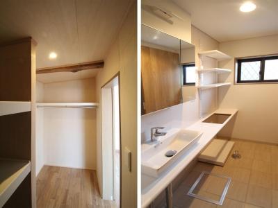 サニタリー|下町のリノベーションハウス|東京都北区 (下町のリノベーションハウス)