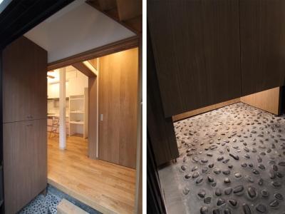 玄関|下町のリノベーションハウス|東京都北区 (下町のリノベーションハウス)