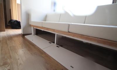 ソファー|下町のリノベーションハウス|東京都北区|下町のリノベーションハウス