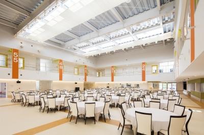アクティブ&リラクゼーション |デイサービス (食堂・ホール|デイサービス|茨城県土浦市)