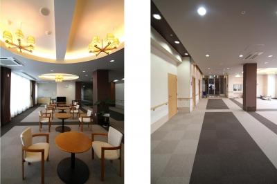 食堂・ホール|ラグジュアリー老人ホーム|茨城県土浦市 (ラグジュアリー老人ホーム)