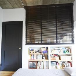 ニューヨークのアパート-寝室