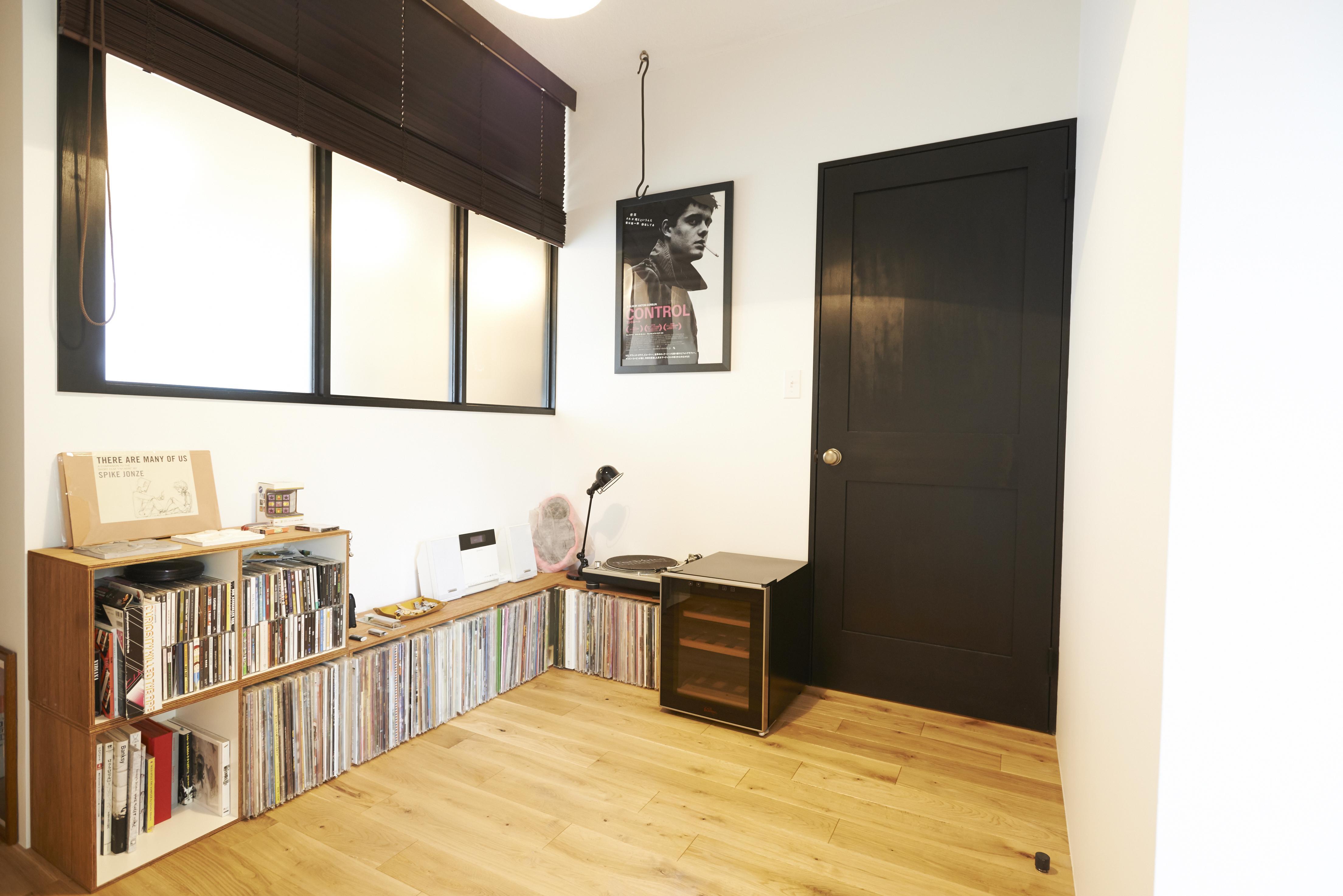 ニューヨークのアパートの部屋 書斎