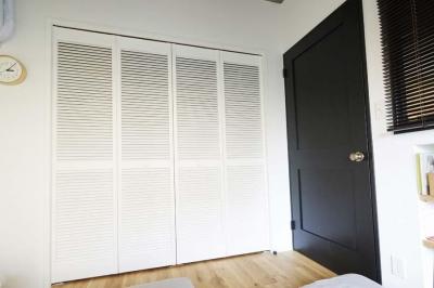 寝室のクローゼット (ニューヨークのアパート)